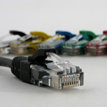 Attēls no NETRACK   patch cable RJ45, snagless boot, Cat 5e UTP, 1.5m black