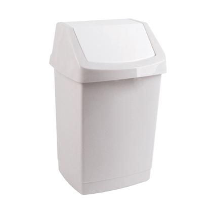 Attēls no NO BRAND Atkritumu tvertne ar šūpoļveida vāku, 50 L