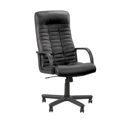 Attēls no NOWY STYL Biroja krēsls   BOSS ECO30 melnas ādas imitācija