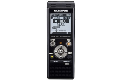 Изображение Olympus WS-853 Black, Digital Voice Recorder, 1040h (MP3, 8kbps) min