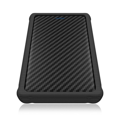 "Picture of Raidsonic ICY BOX External enclosure for 2.5"" SATA HDD/SSD with USB 3.0 interface and silicone protection sleeve 2.5"", SATA, USB 3.0"