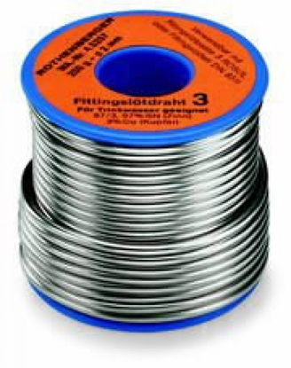 Attēls no ROTHENBERGER Lodalvas stieple Sn97Cu3, 2 mm, 250 g,