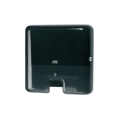 Attēls no SCA Salvešu turētājs TORK Elevation H2 Mini, 295 x 302 x 101 mm, melnā krāsā