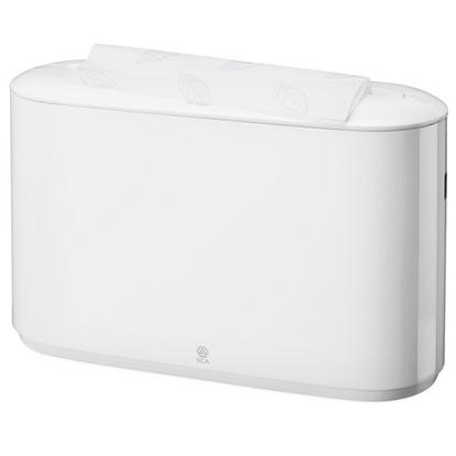 Attēls no SCA Salvešu turētājs TORK Xpress Countertop Multifold, 323 x 218 x 116 mm, baltā krāsā