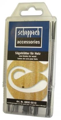 Attēls no SCHEPPACH Universal sawblade set for wood, 60pcs. SD 1600V