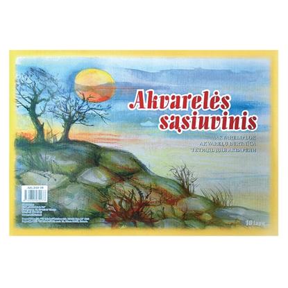 Picture of SMILTAINIS Akvareļu zīmēšanas albums   A3 formāts,210 g,10 lapas