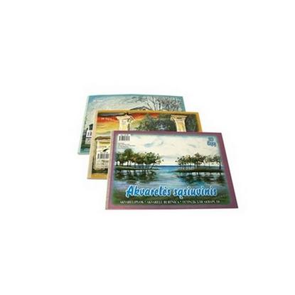 Picture of SMILTAINIS Akvareļu zīmēšanas albums   A4 formāts, 210 gr, 20 lapas