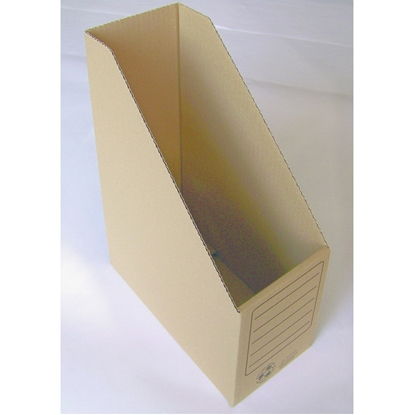 Attēls no SMILTAINIS Arhīva bokss   no brūna gofrēta kartona, 330x250x120 mm