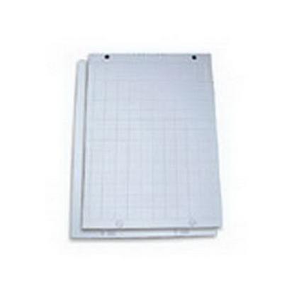 Изображение SMILTAINIS Papīra bloks   Flipchart, 60 x 85 cm, 20 lapas, 80g/m2, balts/rūtiņu (P-TR-20L)