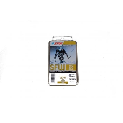 Attēls no STAR SKI WAX Alpine Flash SFW / +0...-6 °C