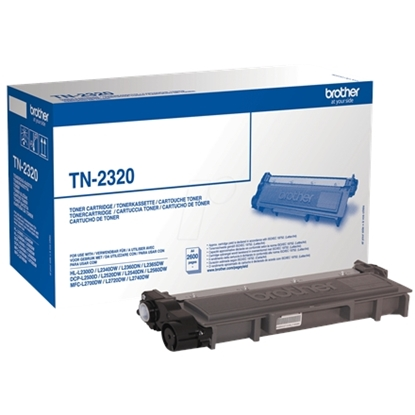 Изображение Brother TN-2320 Toner Cartridge, Black