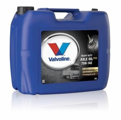 Изображение VALVOLINE gear oil HD AXLE OIL PRO 75W140 20L