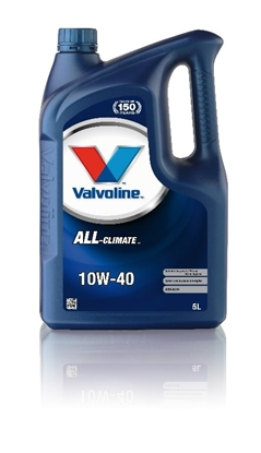 Attēls no VALVOLINE motor oil ALL CLIMATE 10W40 5L