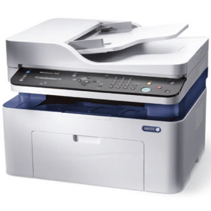 Attēls no WorkCentre 3025NI, A4, Copy/Print/Scan/Fax, ADF, 20ppm, 15K monthly, 128Mb, 8.5 sec, 150 sheets, USB 2.0, WiFi, Ethernet
