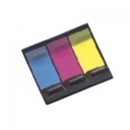 Picture of *Indeksi 20x48mm,  20 lapiņas,  3 krāsas,  Z-veida NEON