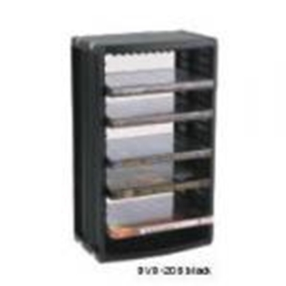 Picture of *Plaukts DVD-20 20gab.DVD melns