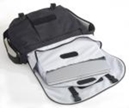 Picture of *Soma port.datoram MESSENGER black/grey Ednet