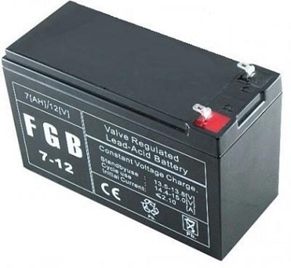 Изображение BATTERY 12V 7AH VRLA/FGB7-12 EMU