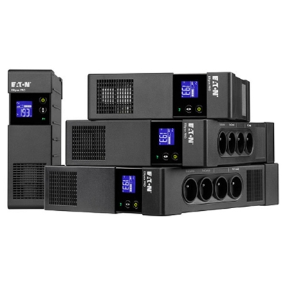 Picture of 1600VA/1000W UPS, line-interactive, DIN 4+4