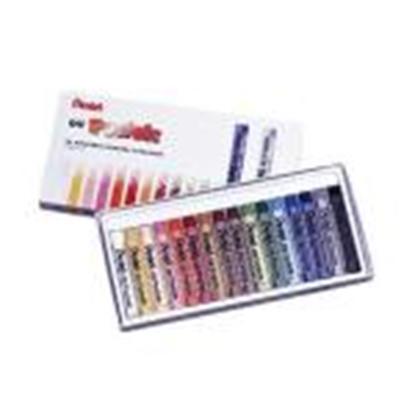 Изображение Eļļas pasteļkrītiņi 16 krāsas OIL PASTELS PENTEL