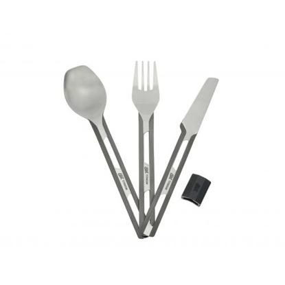 Изображение ESBIT Titanium Cutlery Set / Titāna