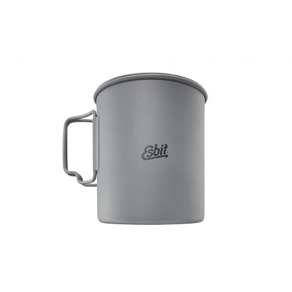Attēls no ESBIT Titanium Pot 750ml 110x99mm / Titāna / 0.75 L