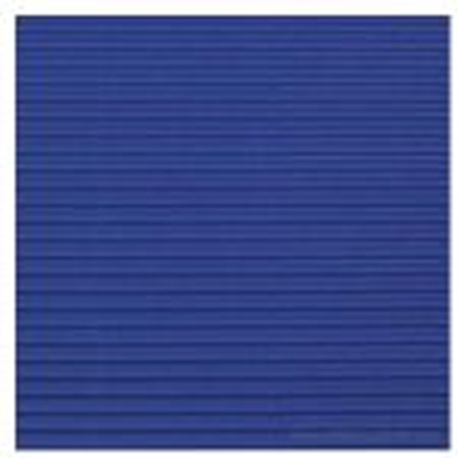 Picture of Gofrēts kartons 500x700mm tumši zils,  1 loksne