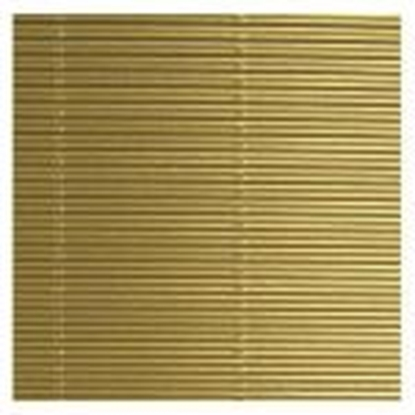 Picture of Gofrēts kartons 500x700mm,  zelts,  1 loksne