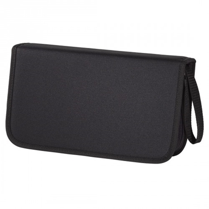 Attēls no CD WALLET 104 CD NYLON CZARNY