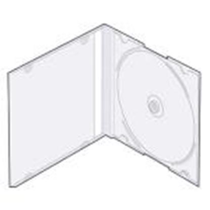 """Attēls no Kastīte CD-1 """"slim"""" 5, 2mm caurspidīga"""