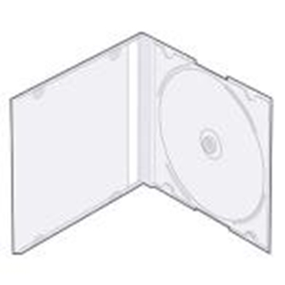 "Picture of Kastīte CD-1 ""slim"" 5, 2mm caurspidīga"