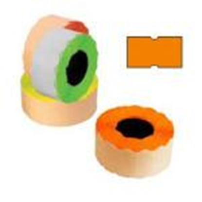 Attēls no Marķēšanas lente 21.5x12mm oranža,  1000uzl./rul.