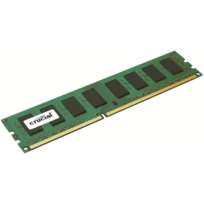 Picture of Crucial 4 GB, DDR3, 1600 MHz, PC/server, Registered No, ECC No
