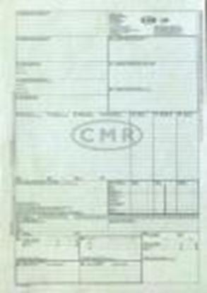Attēls no Muitas deklarācijas CMR 6 lapas bez numuriem
