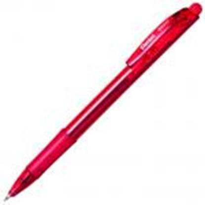 Picture of Pildspalva lodīšu PENTEL BK-417 sarkana