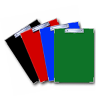 Изображение Planšete ELFEN A4,  sarkana krāsa