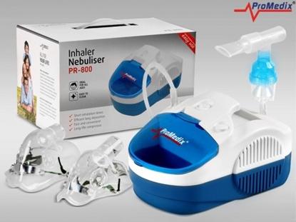 Изображение Inhalator PR-800 zestaw nebulizator, maski, filterki