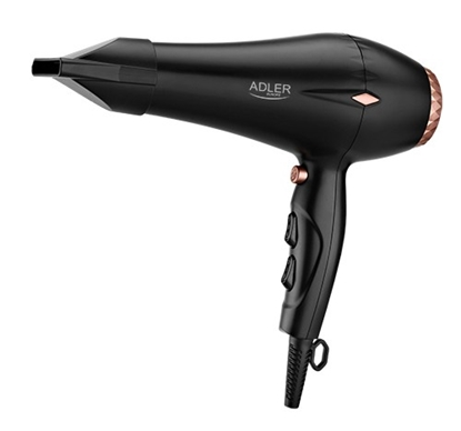 Изображение Adler Hair Dryer AD 2244 Motor type AC, 2000 W, Black