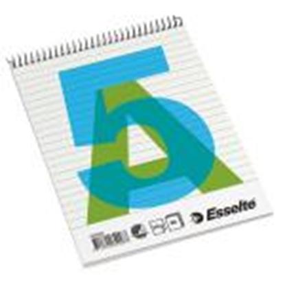 Изображение Bloknots A5/80 lapas,  līniju ar spirāli ESSELTE