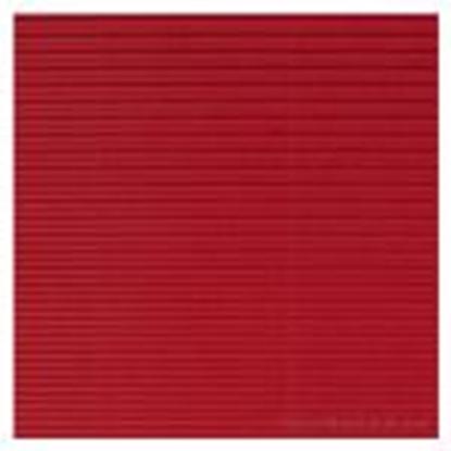 Picture of Gofrēts kartons 500x700mm sarkans,  1 loksne