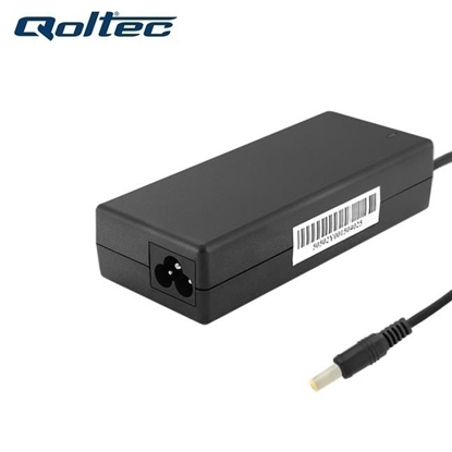 Изображение Qoltec 50070 (5.5x2.5mm) 90W 4.74A 19V AC Tīkla lādētājs priekš Asus / Acer portatīvajiem datoriem