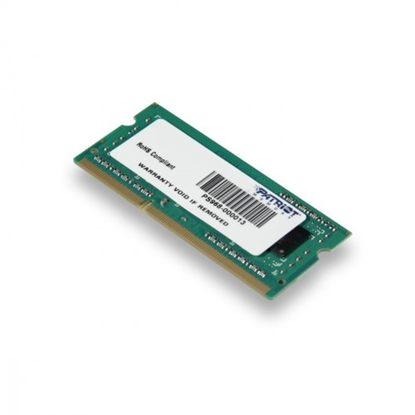 Attēls no Patriot 4GB 1600MHz DDR3 Non-ECC CL11 SODIMM
