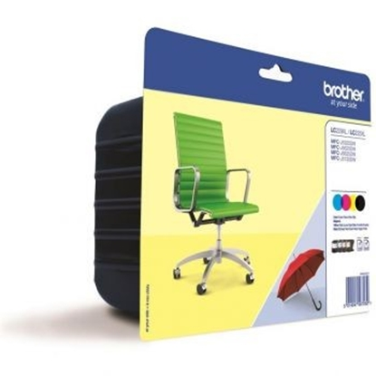 Изображение Pack Brother LC229XLVALBP CMYK blister MFCJ 5320DW/5600 Series/5620DW/5625DW
