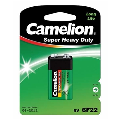 Picture of Camelion 6F22-BP1G 9V/6F22, Super Heavy Duty, 1 pc(s)