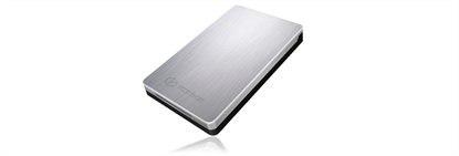 "Picture of Icy Box-234U3a Elegant and very stable USB 3.0 enclosure for 2.5"" SATA HDD and SSD"