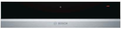 Attēls no BOSCH sildīšanas atvilktne, 14 cm, melna/nerūs. tērauda