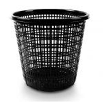 Picture of Papīrgrozs FORPUS,  10 litri,  melns sietiņveidīgs
