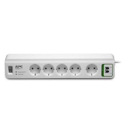 Изображение APC PM5T-GR surge protector White 5 AC outlet(s) 230 V 1.83 m