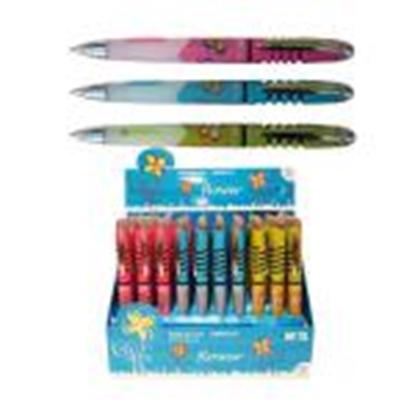 Изображение *Pildspalva lodīšu FLOWER 0.5mm zila ABP85173