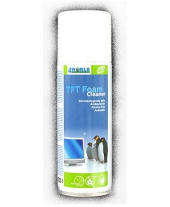 Attēls no 4World Foam Cleaner for LCD monitors, TFT & 200ml
